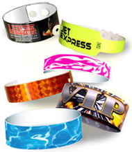 Festivalarmband / Entrbevis / Logoband