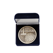 Golf Medalj präglad med etui 70 mm ø Nearest the pin