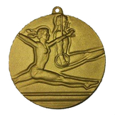 Medalj RETRO prglad &quot;Gymnastik&quot; 40 mm 